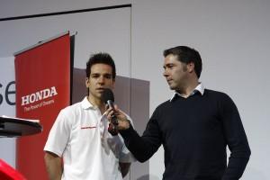 Rui Gonçalves é piloto oficial Honda