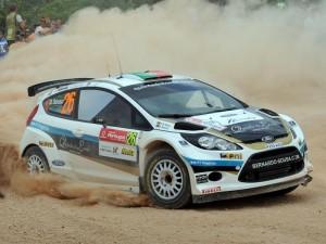 Automobilismo- Bernardo Sousa no Vodafone/Rali de Portugal em Ford Fiesta WRC