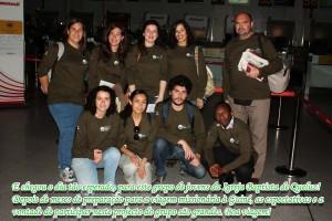 Dez jovens universitários