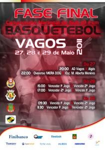 Basquetebol- Escola Maria Alberta Menéres, em Vagos na Fase final do Nacional sub-19 feminino