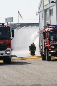 Explosão de gás propano testa meios do Serviço Mnicipal da Protecção