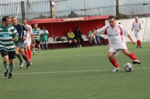 """Veteranos do Sporting batem por 3-1 """"Os Montelavarenses"""" na festa do 92.º Aniversário do clube de Montelavar"""