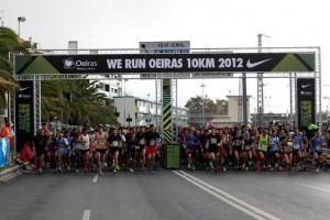 Atletismo: Jessica Augusto e Rui Silva vencem Corrida do Tejo 2012
