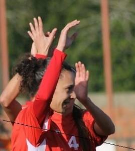 Futebol feminino-1.º Dezembro empata (3-3) no Futebol Benfica