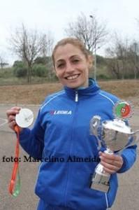 Atletismo:Cláudia Pereira (JOMA) vice campeã nacional de estrada