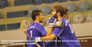 HC Sintra empata em casa (6-6) com o Vasco da Gama e Nafarros perde (7-3) em Grândola no nacional da 2.ª divisão de hóquei em patins