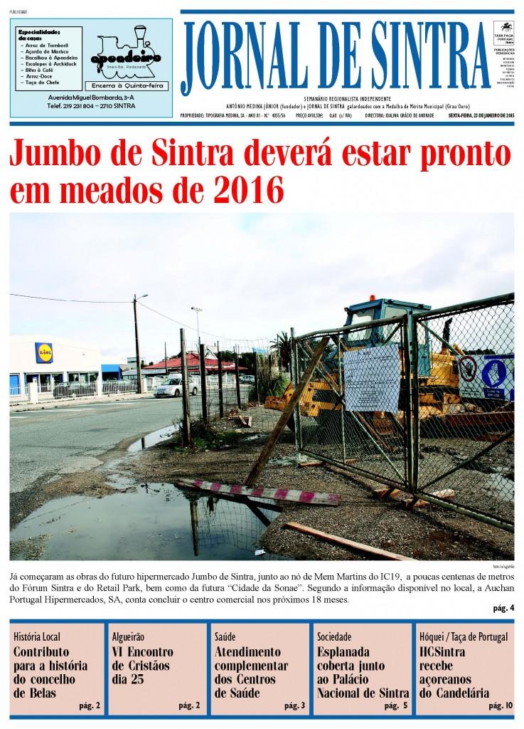 Capa de 23-01-2015