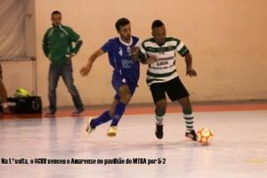Futsal- SC Vila Verde campeão de inverno na 2.ª divisão nacional- Série D