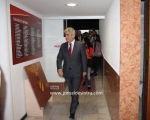 Presidente do Benfica, Luís Filipe Vieira, inaugura oficialmente a Casa de Algueirão-Mem Martins