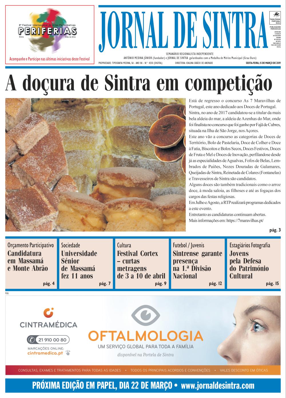 Capa da edição de 15/03/2019