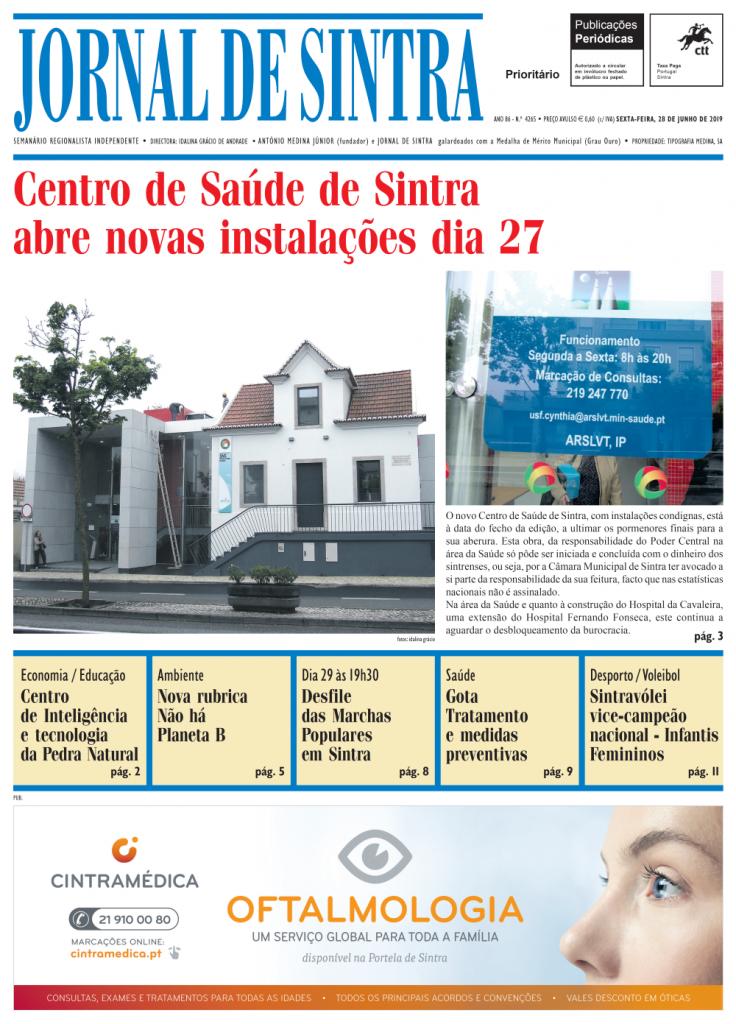 Capa da edição de 28/06/2019