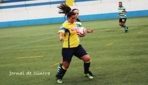 Futebol Feminino- Sporting B, vence (2-6), o Sintrense na 2.ª Divisão Nacional
