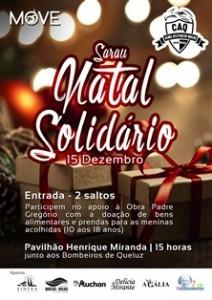 Clube Atlético de Queluz apresenta Sarau Solidário