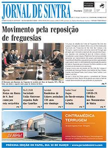 Capa da edição de 12/03/2020
