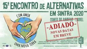 ADIAMENTO 15º Encontro de Alternativas em Sintra – Comunicado Covid 19
