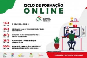Ciclo de formação online para treinadores de ciclismo