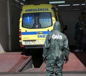 COVID-19: GNR descontaminou mais de 1000 ambulâncias e de 30 instalações