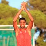 Gerson Baldé, recordista nacional do Salto em Altura (sub 23)