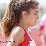 Camila Gomes, vice campeã nacional dos 800 m