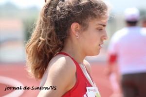 Camila Gomes (SLB), vice campeã nacional dos 800 m planos (sub 20)