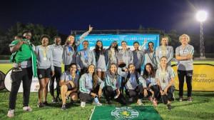 Atletismo- Benfica e Sporting dividem titulos colectivos. Camila Gomes (800 m), Marta Pen Freitas (1.500) Vera Barbosa (400 mb), e Patrícia Mamona (Triplo),estiveram em destaque