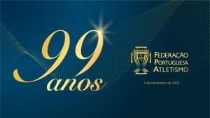 Federação Portuguesa de Atletismo comemora 99 anos