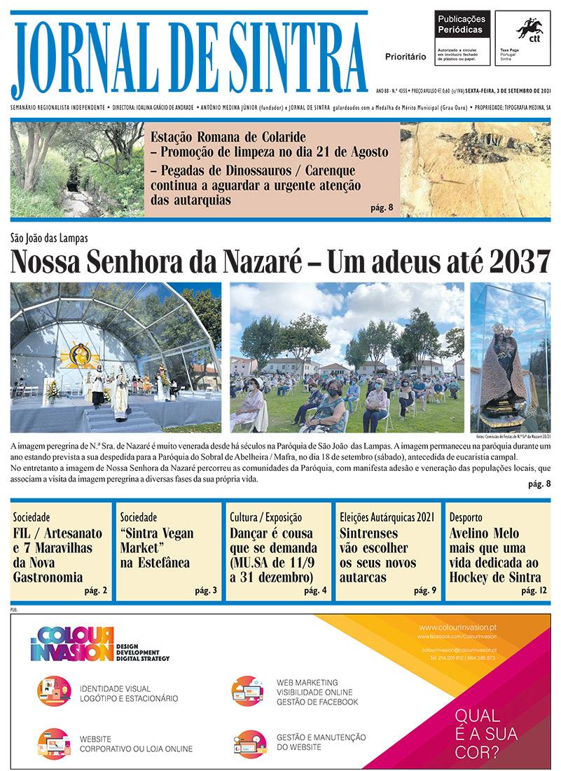 Capa de edição 03/09/2021
